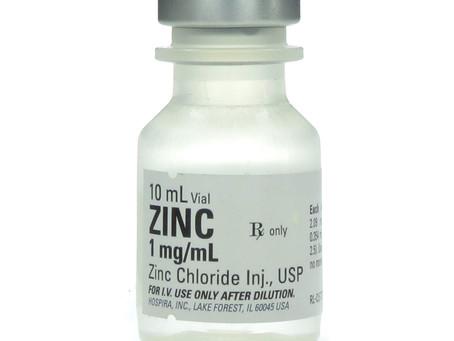 Zinc, zinc, zinc. Everybody is talking about #Zinc