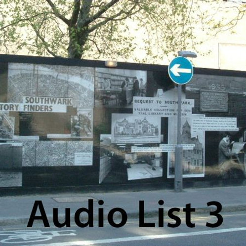 Audio Book 1 List 3