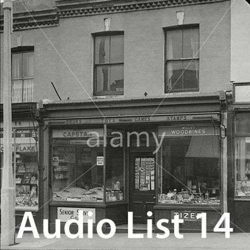 Audio Book 3 List 14