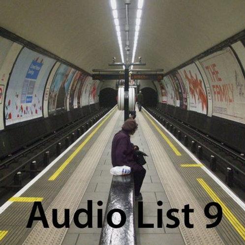 Audio Book 2 List 9