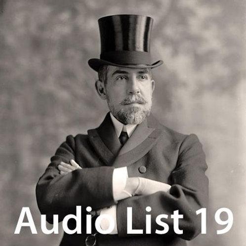 Audio Book 4 List 19