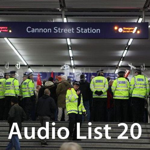 Audio Book 4 List 20