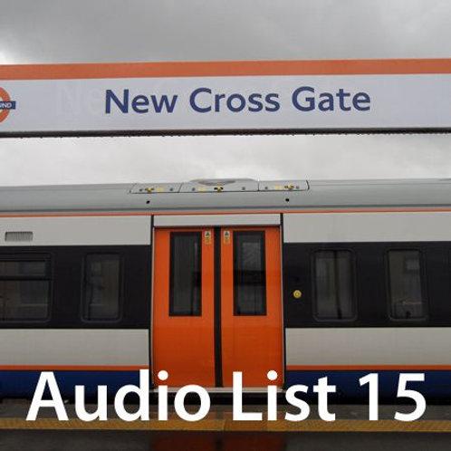 Audio Book 3 List 15