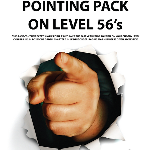 Paper Pointing Pack 56's