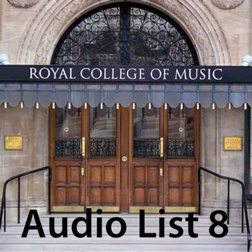 Audio Book 2 List 8