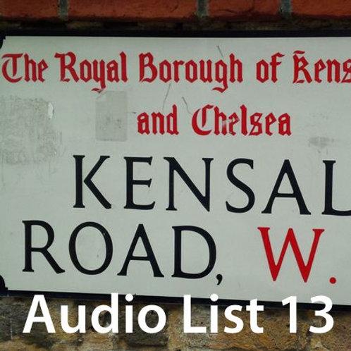 Audio Book 3 List 13