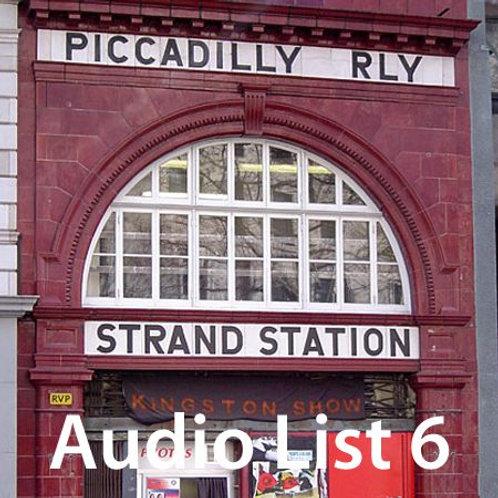 Audio Book 2 List 6