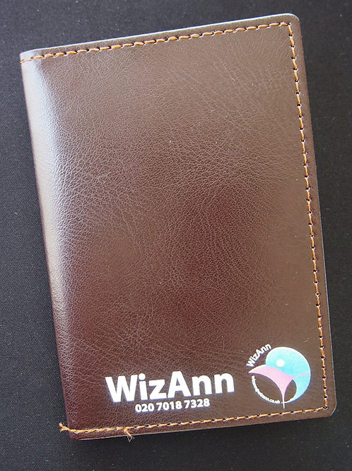 Cab Taxi Bill License Holder Leather