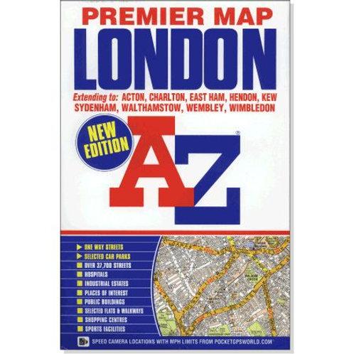 Map A-Z Premier Lamfold Map