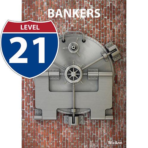 Paper Banker 21 Level