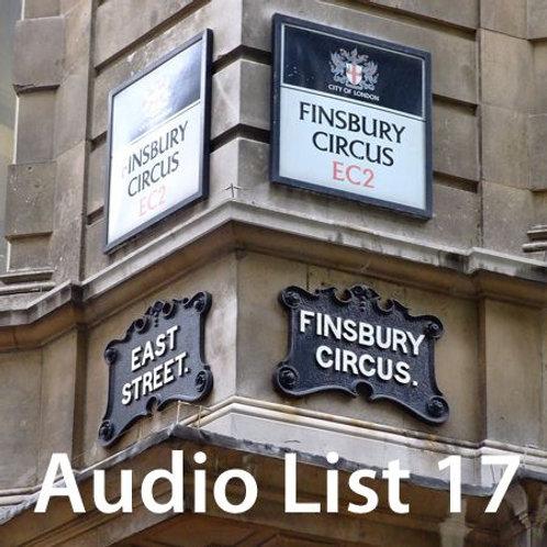 Audio Book 4 List 17