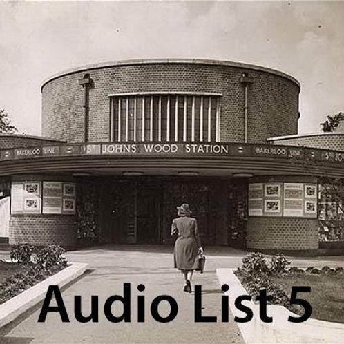 Audio Book 1 List 5