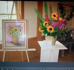Art in Bloom 2011 Sunflowers