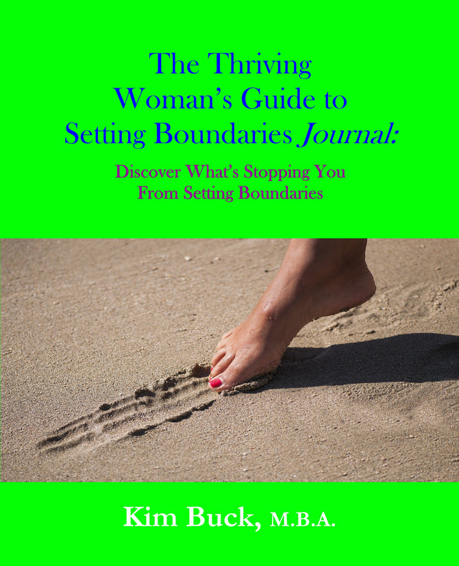 The Thriving Woman's Guide to Setting Boundaries Journal Now Available