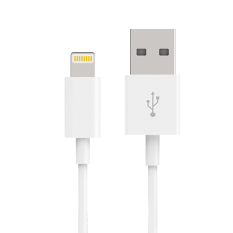 APPLE MFI CERTIFIED USB LIGHTNING SYNC & CHARGE CABLE