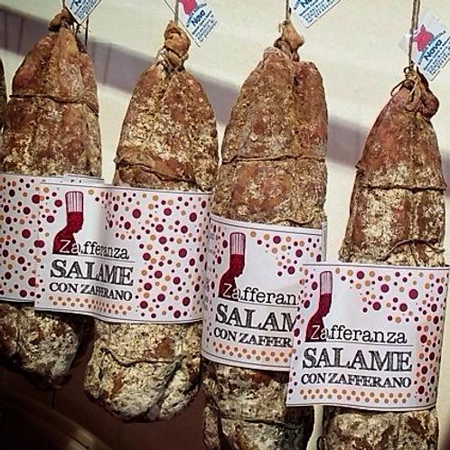 Salame allo Zafferano 600 gr
