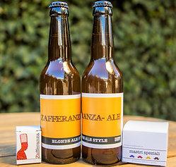 Birra aromatizzata allo zafferano, 33 cl