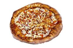 pizza poulet bbq