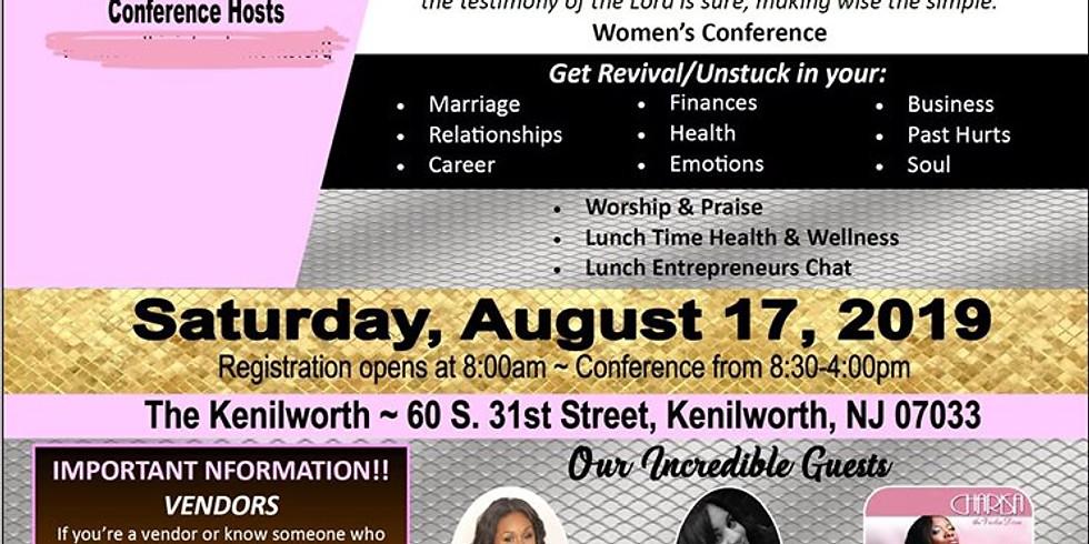 Unstuck - women conference