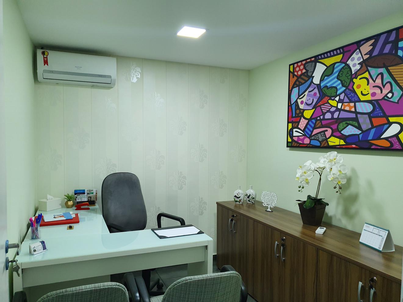 Sala aplicação de testes