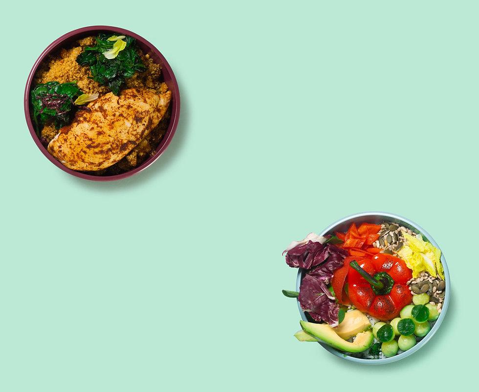 FItnessgerichte-Meal Preps-Abnehmen-Musk
