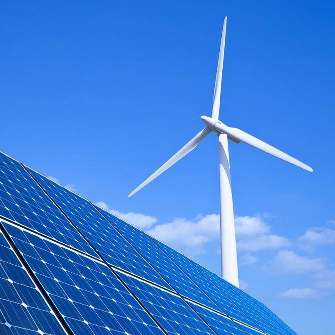 Energia solar ultrapassa eólica