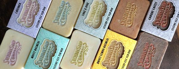 Sheridan Soap Company Signature Beveled Edge Luxury Soap Bars