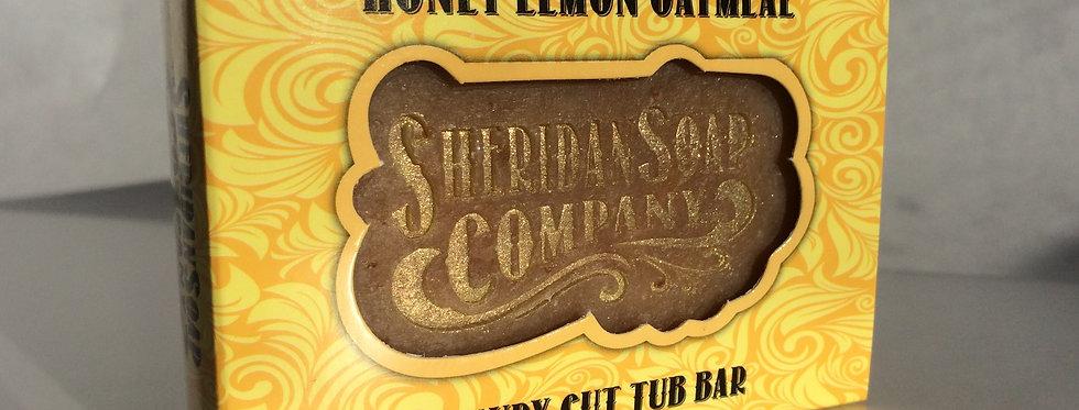 Honey Lemon Oatmeal Tub Bar