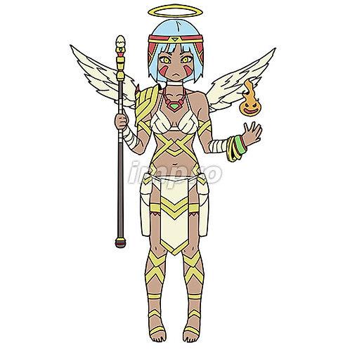 呪術師の天使