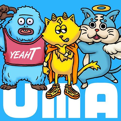 【ユーマシリーズ】3体セット