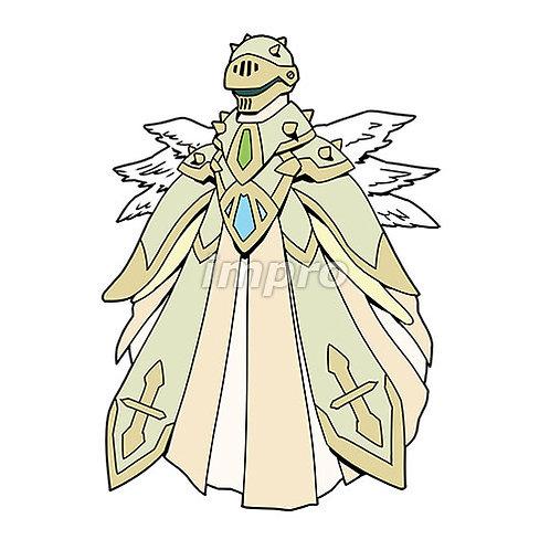 全身装備した謎の天使