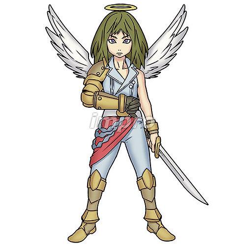 正義の天使(影あり)