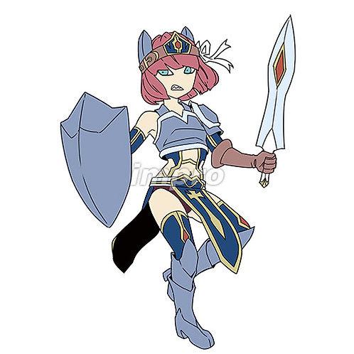 卓越した女剣士