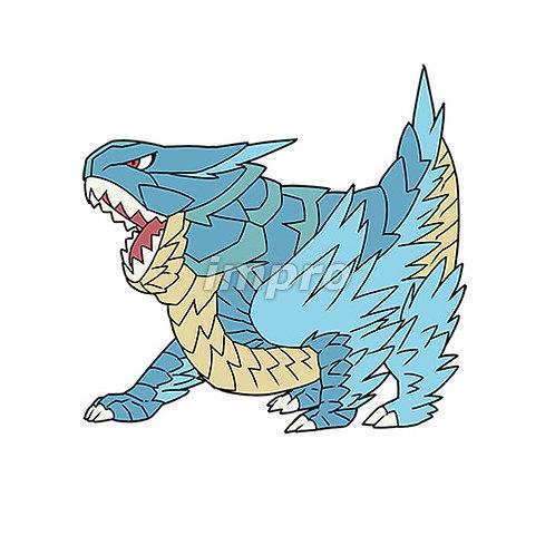 咆哮するドラゴン