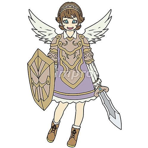 ショートヘアのおちゃめな天使
