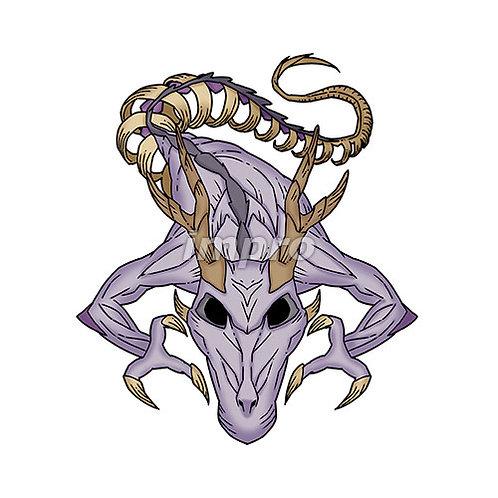 不死のドラゴンゾンビ(影あり)
