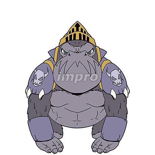 ゴリラの戦士