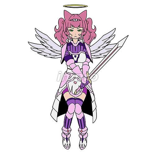 ムスッとした天使