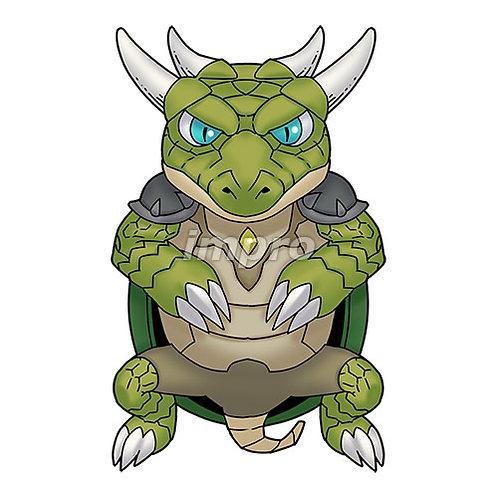亀の戦士(影あり)
