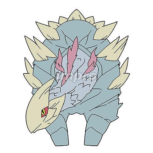 大きな骨の草食竜