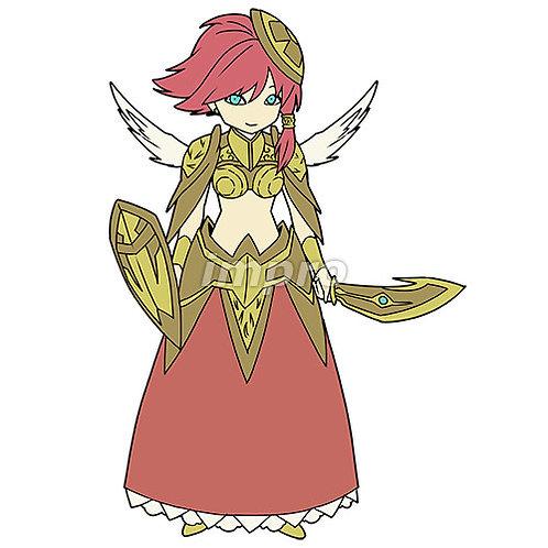金の鎧の戦天使