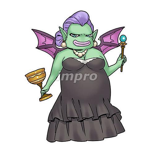 悪魔のマダム(影あり)