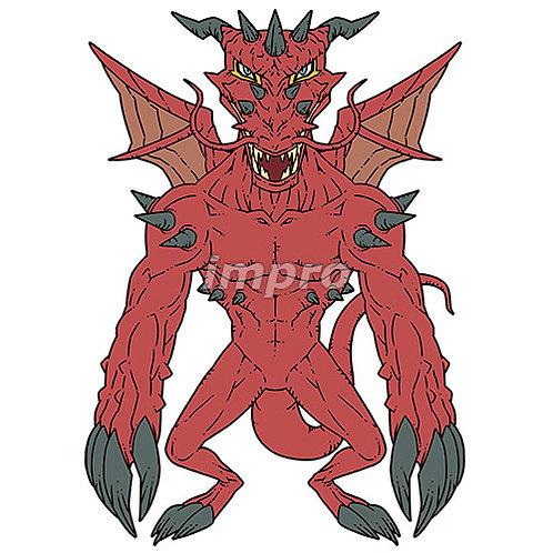 深紅のドラゴン
