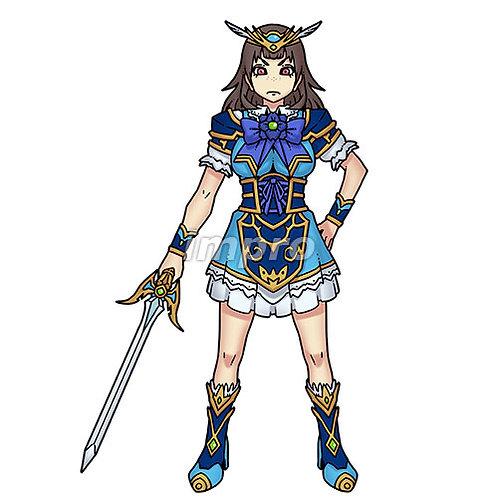 人気のアイドル騎士(影あり)