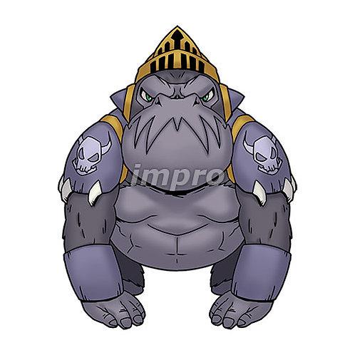 ゴリラの戦士(影あり)