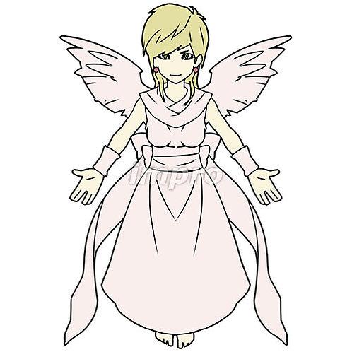 讃美歌を歌う天使