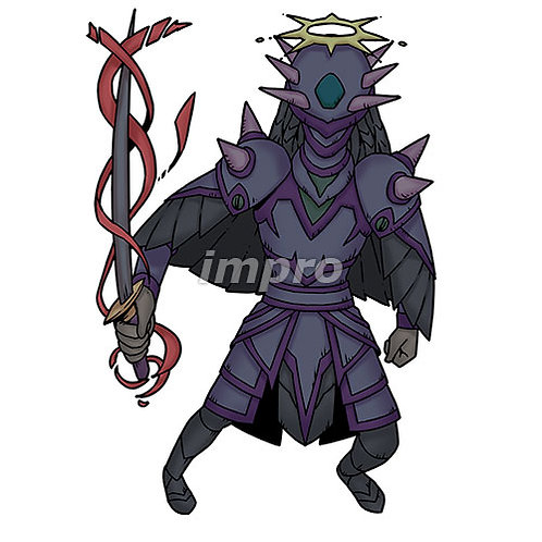 深淵の黒騎士(影あり)