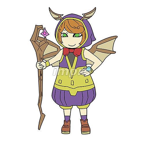 魔術師の少女