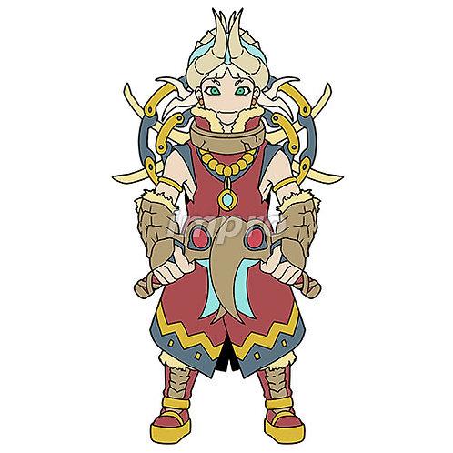 卓越した双剣のハンター