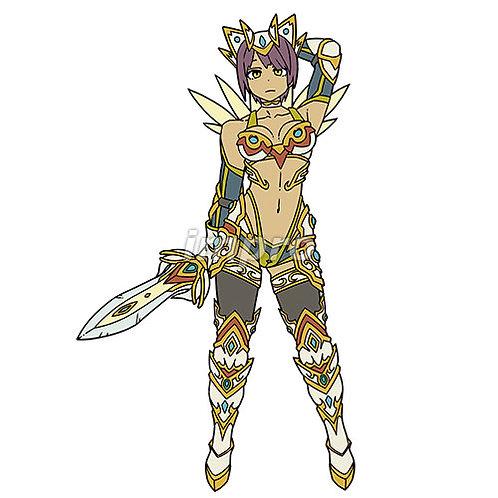 戦い慣れした女騎士
